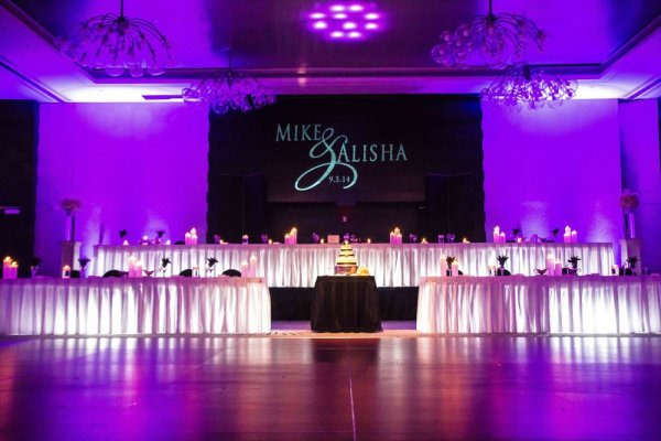 Uplighting Rentals for a Denver Wedding